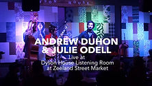 Andrew Duhon & Julie Odell Recorded Live by FourLeafAudio LLC