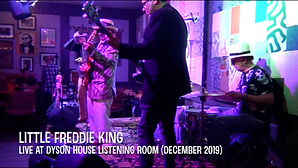 Little Freddie King at Dyson House Song #1