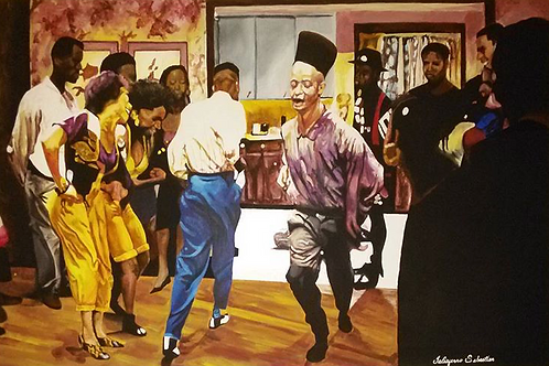 House Party 24x36