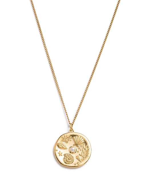 By The Sea Coin Necklace