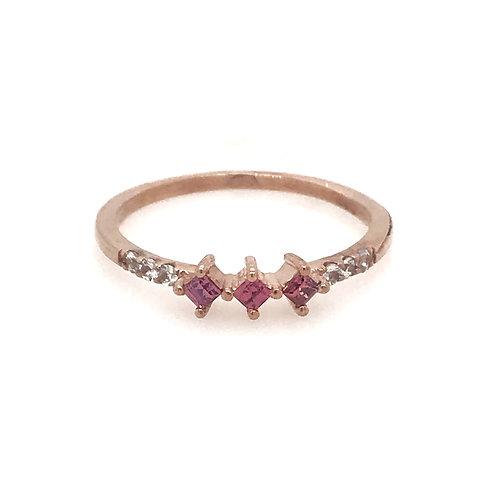 CHARLOTTE - Pink Garnet