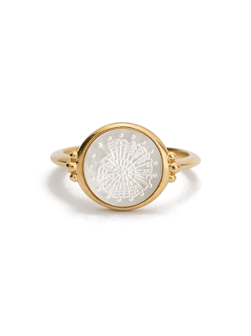 Fossil Shell Ring