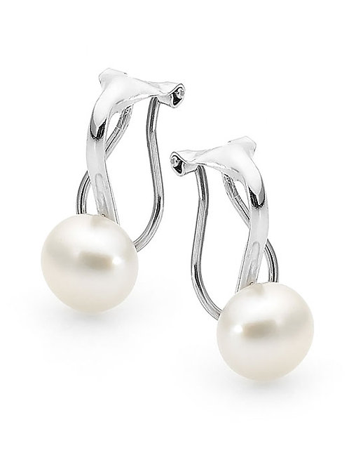 Freshwater Pearl Clip On Earrings