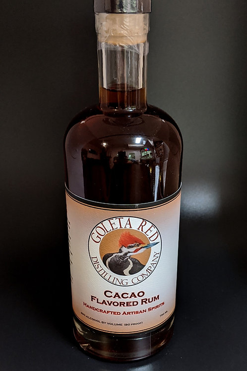 Cacao flavored Rum