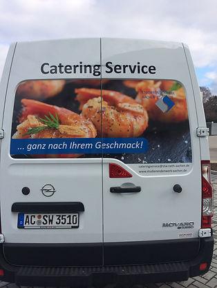 Lieferwagen-Beklebung-Aachen