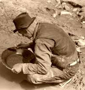 Gold Panning for real gold - onsite
