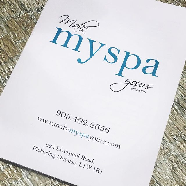 myspa brochure