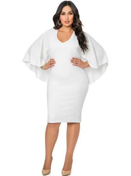 White Evening wear