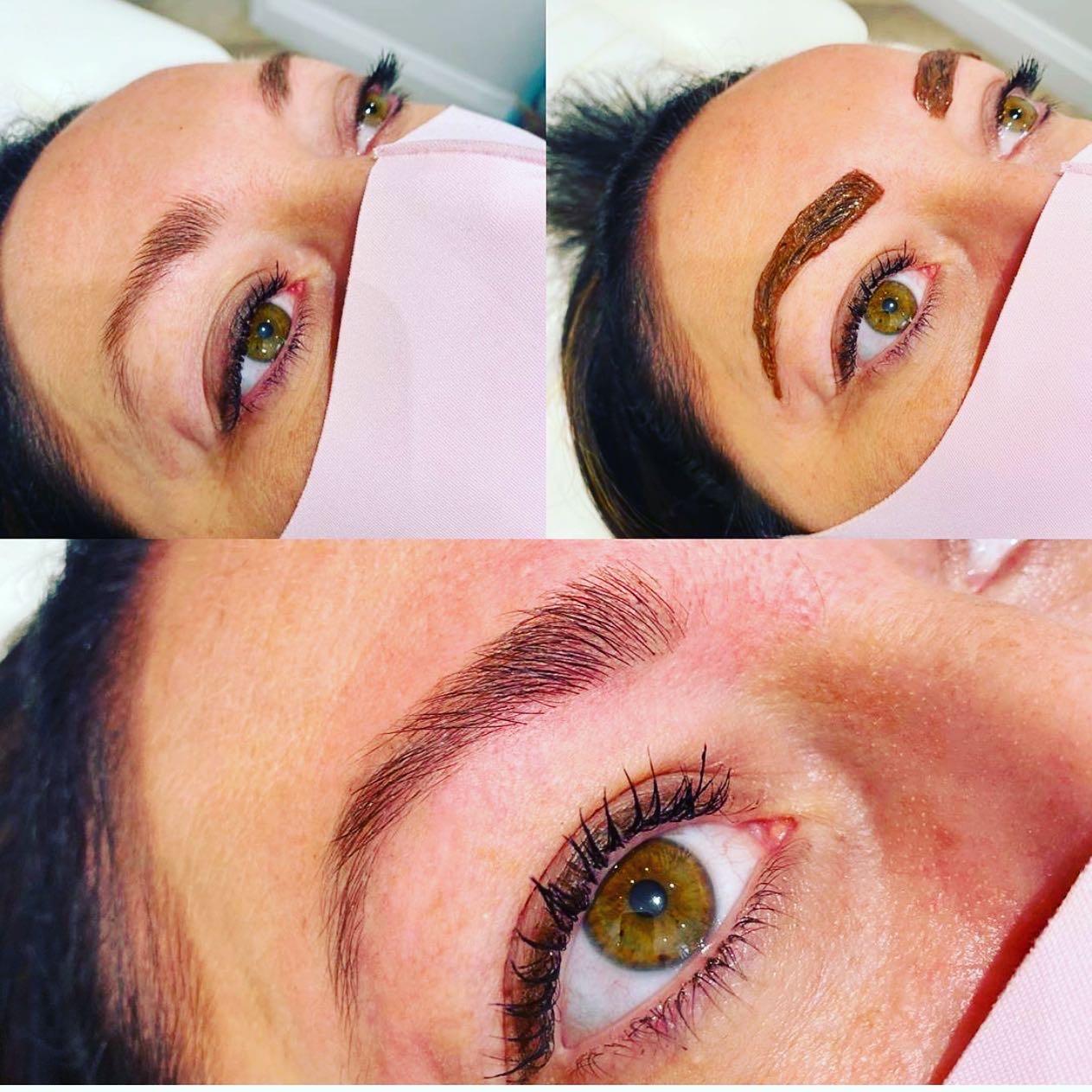 myspa tint & wax brows