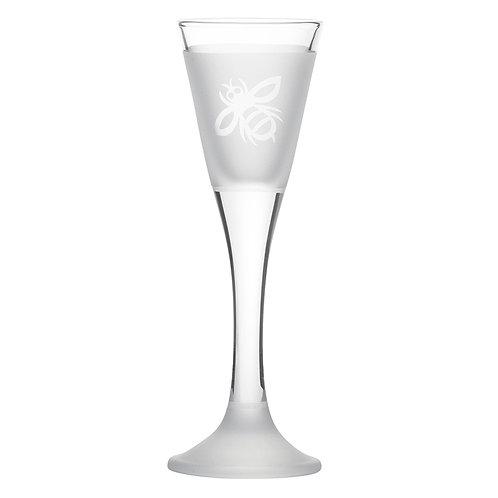 Snapseglas, bi klar