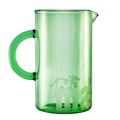 Lille grøn kande, mælk