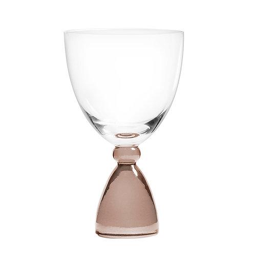 DotCom vinglas, brun