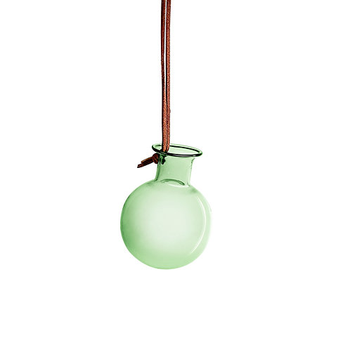 Lille hængevase, grøn