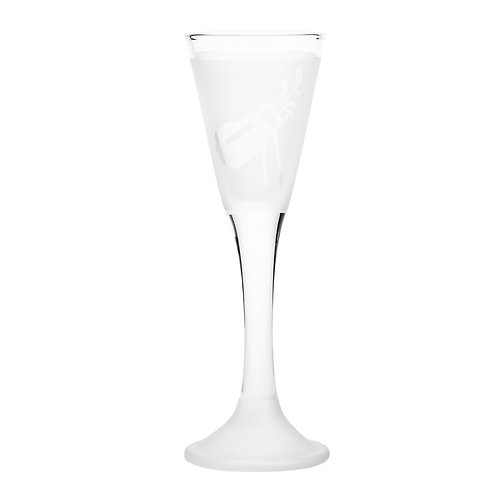 Snapseglas, golfbag klar