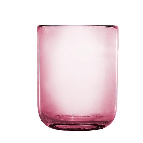 Odin drikkeglas, rosa