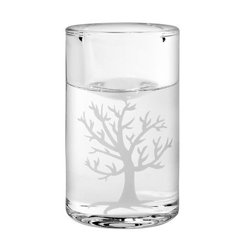 Silostage, sandblæst træ