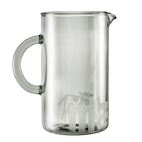 Lille grå kande, mælk
