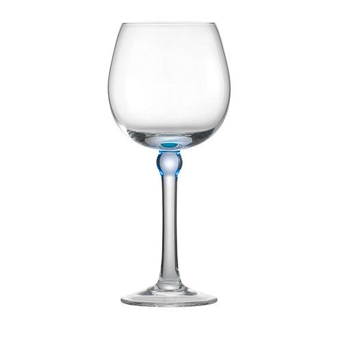 Baloon hvidvinsglas, blå