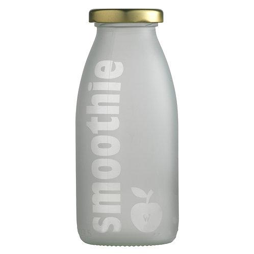Lågflaske sandblæst, smoothie