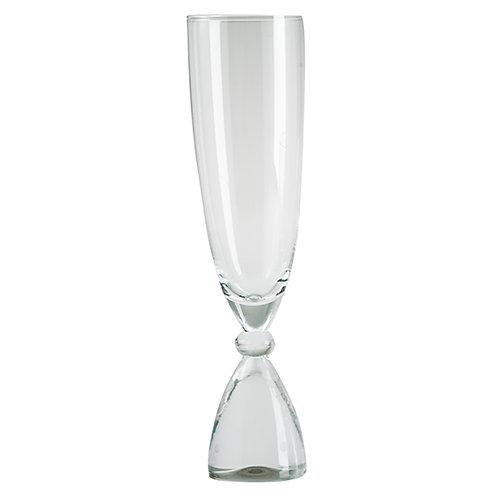 DotCom champagneglas, klar