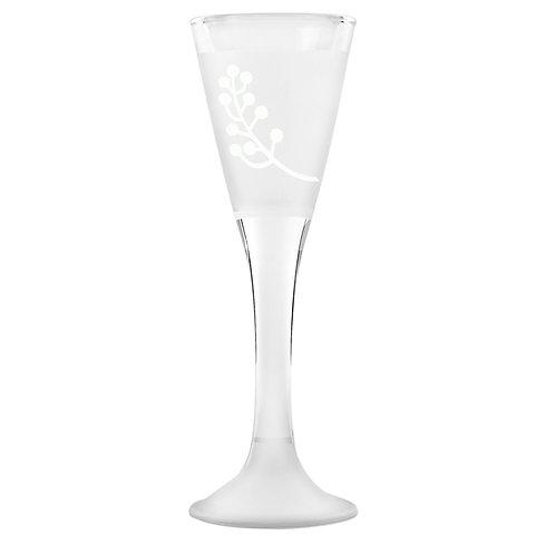 Snapseglas, bærranke sandblæst