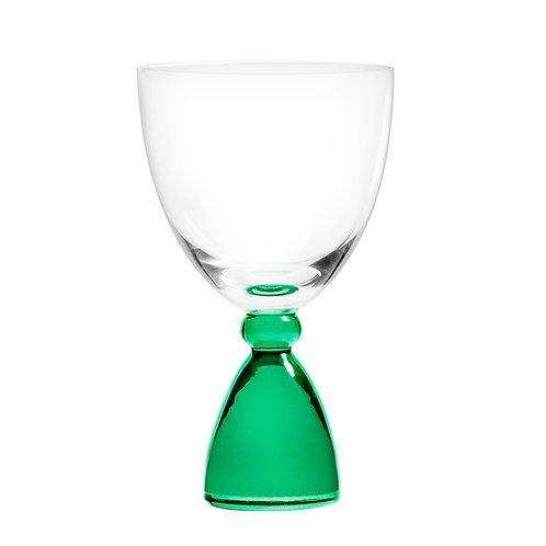 DotCom vinglas, grøn