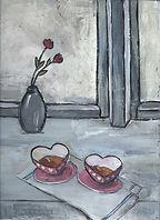 Ulrike Wäbs, postcards, happy valentine
