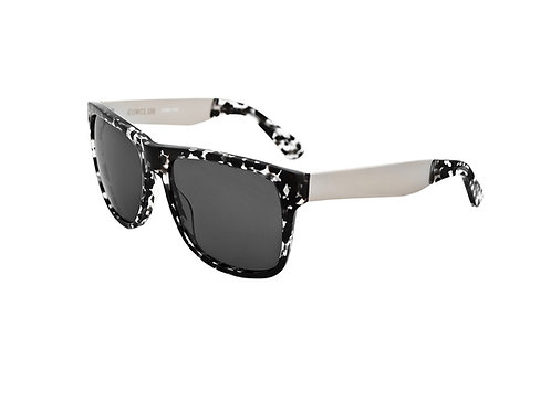 Gunclub - Black Tortoise Silver, Grey Lens