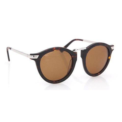 CROW - Matte Brown Tortoise, Brown Lens