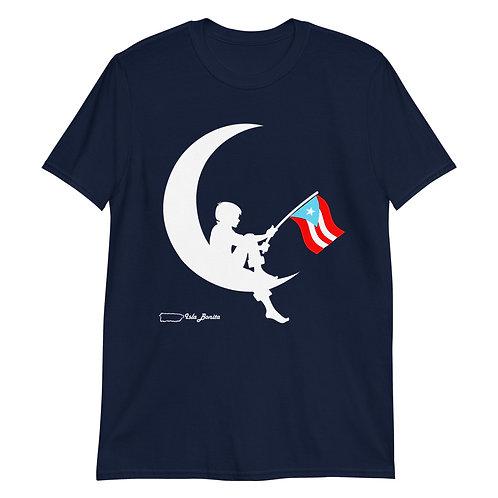 Aunque naciera en la luna - Dark Shirt
