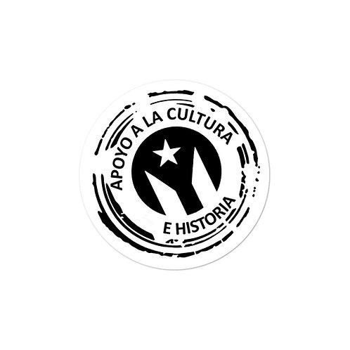 Apoyo a la Cultura - Sticker