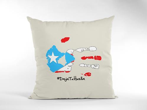 #DejaTuHuella - Cojín