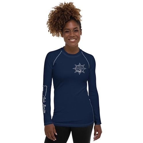 Isla Bonita - Women's Beach Shirt (Navy)