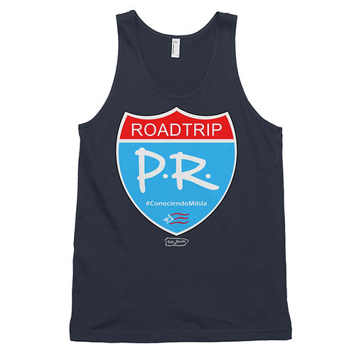 Roadtrip PR - Unisex Tank Top