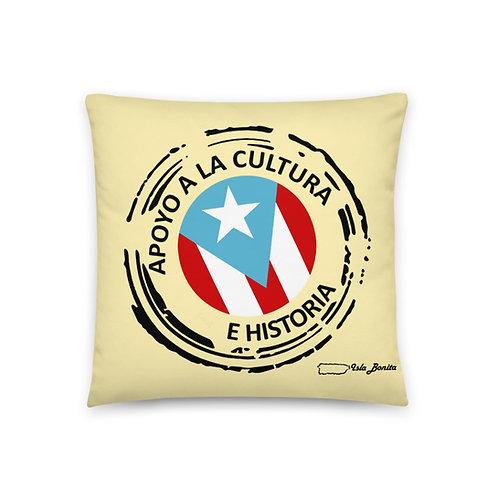 Apoyo a la cultura - Cojín