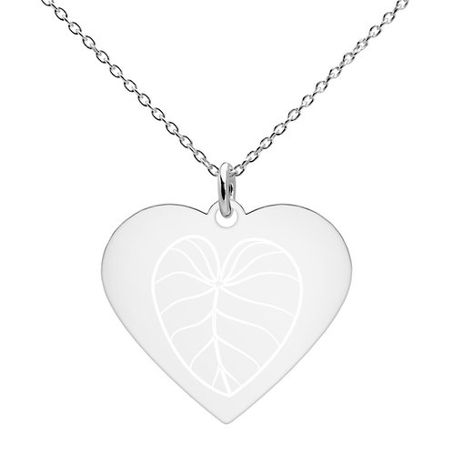 Yunque Leaf - Heart Necklace