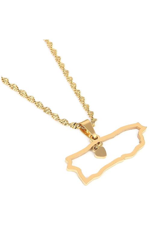 PR Coasts - Gold Necklace