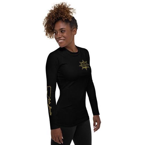 Isla Bonita - Women's Beach Shirt (Black)