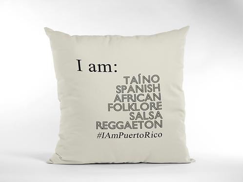 #IamPuertoRico - Cojín