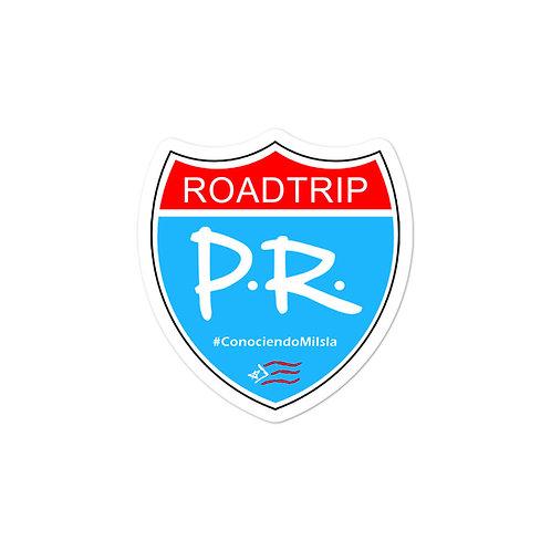 Roadtrip PR - Sticker