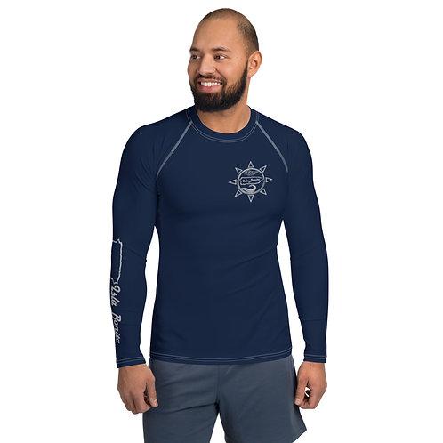 Isla Bonita - Men's Beach Shirt (Navy)