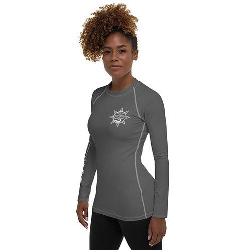 Isla Bonita - Women's Beach Shirt (Grey)