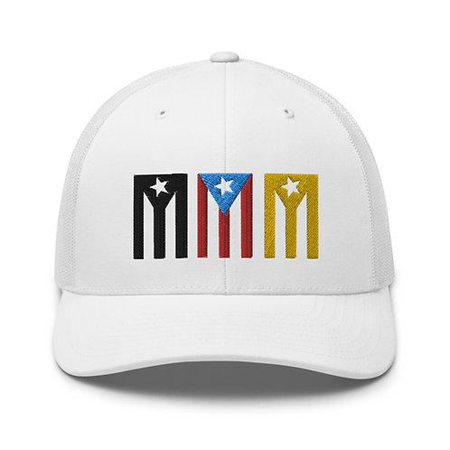 Tres Banderas - Gorra Blanca
