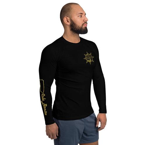 Isla Bonita - Men's Beach Shirt (Black)
