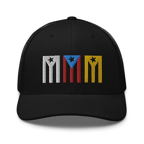 Tres Banderas - Gorra Negra