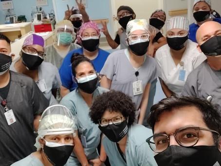 Isla Bonita PR dona mascarillas a enfermeros