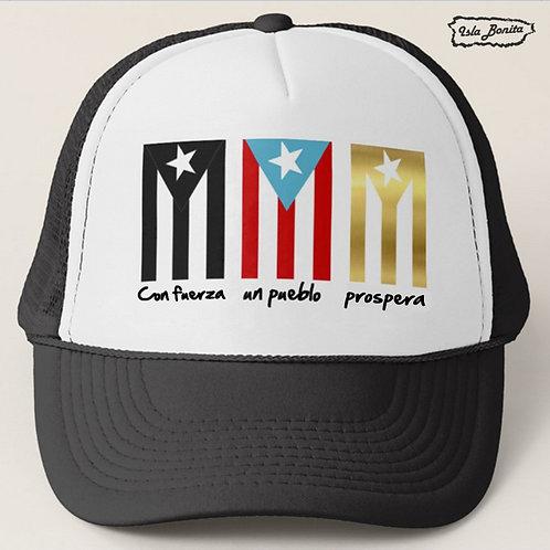 3 Banderas - Gorra