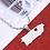 Thumbnail: PR Heart - Silver Necklace