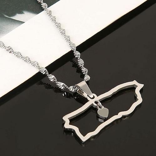 PR Coasts - Silver Necklace