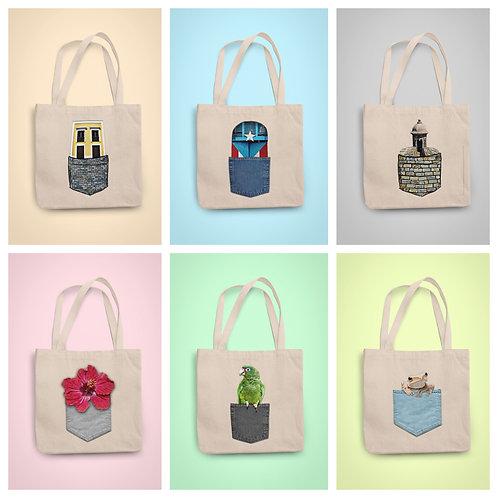 Pocket PR - Tote Bag Collection